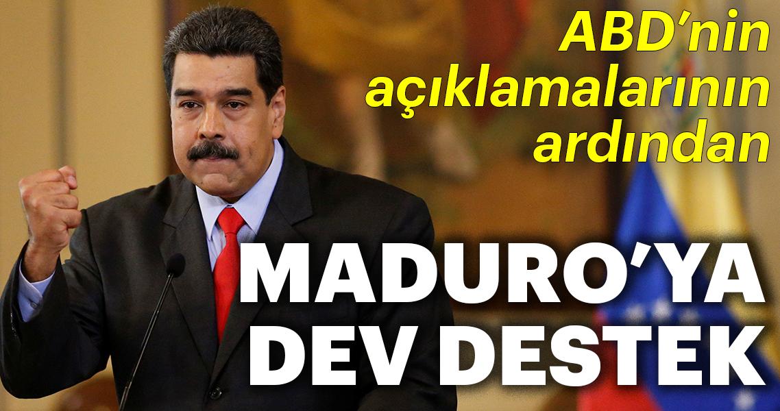 ABD'nin müdahalelerine karşı Venezuela'ya destek veren ülkeler