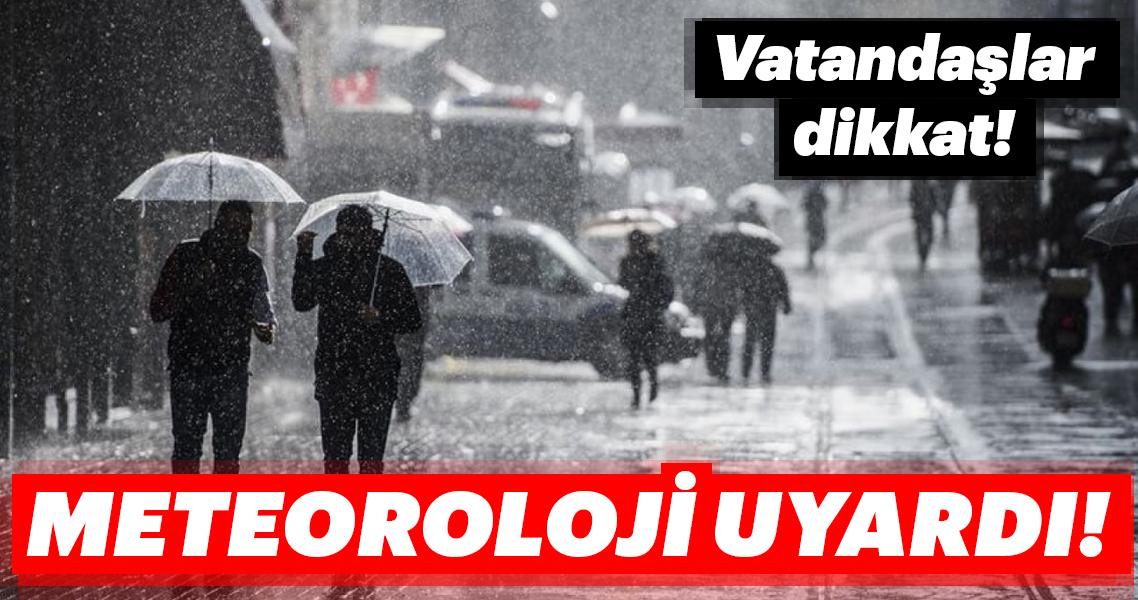 Meteoroloji'den son dakika hava durumu uyarısı! İstanbul bugün hava nasıl olacak?