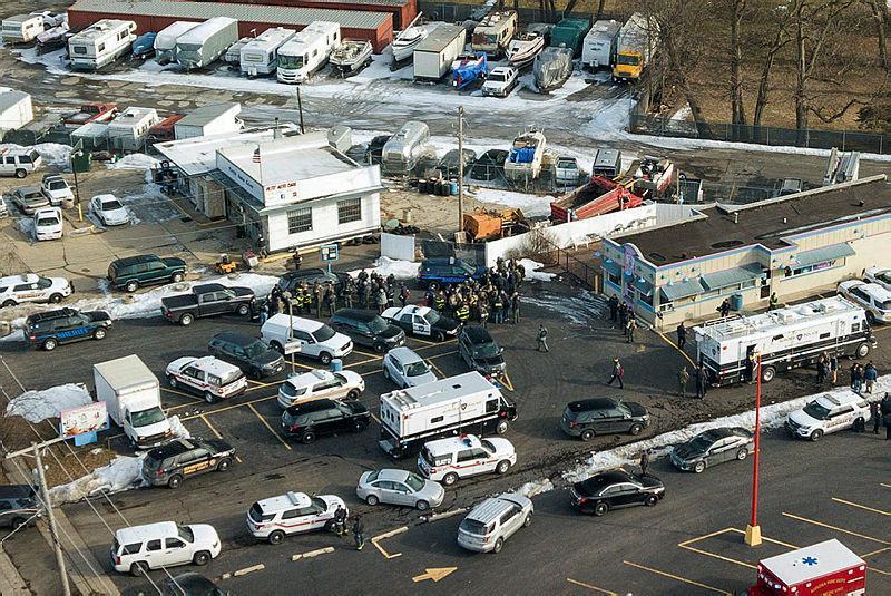 İş yerinde silahlı saldırı: 5 ölü 5 yaralı