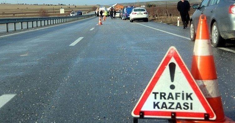 D100 Karayolu'nda zincirleme trafik kazası