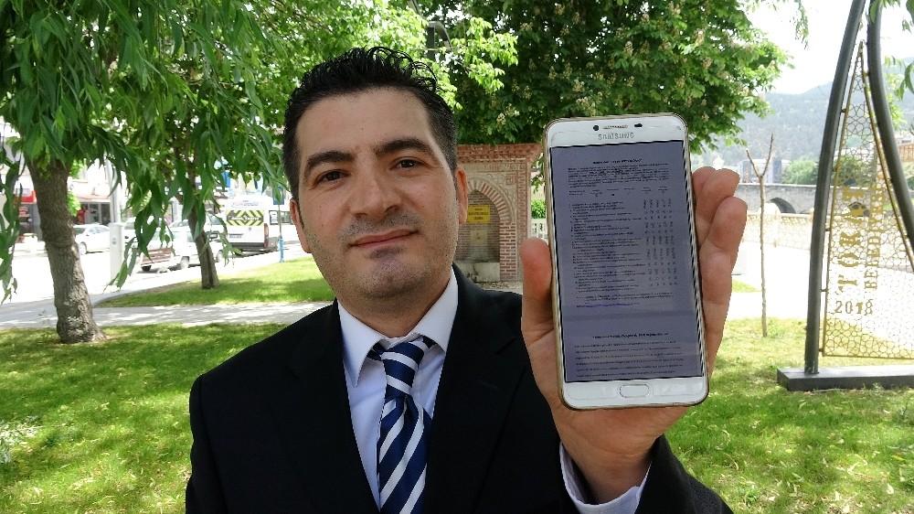 Tokat Gaziosmanpaşa Üniversitesi'nden Doç. Dr. İbrahim Arpacı: