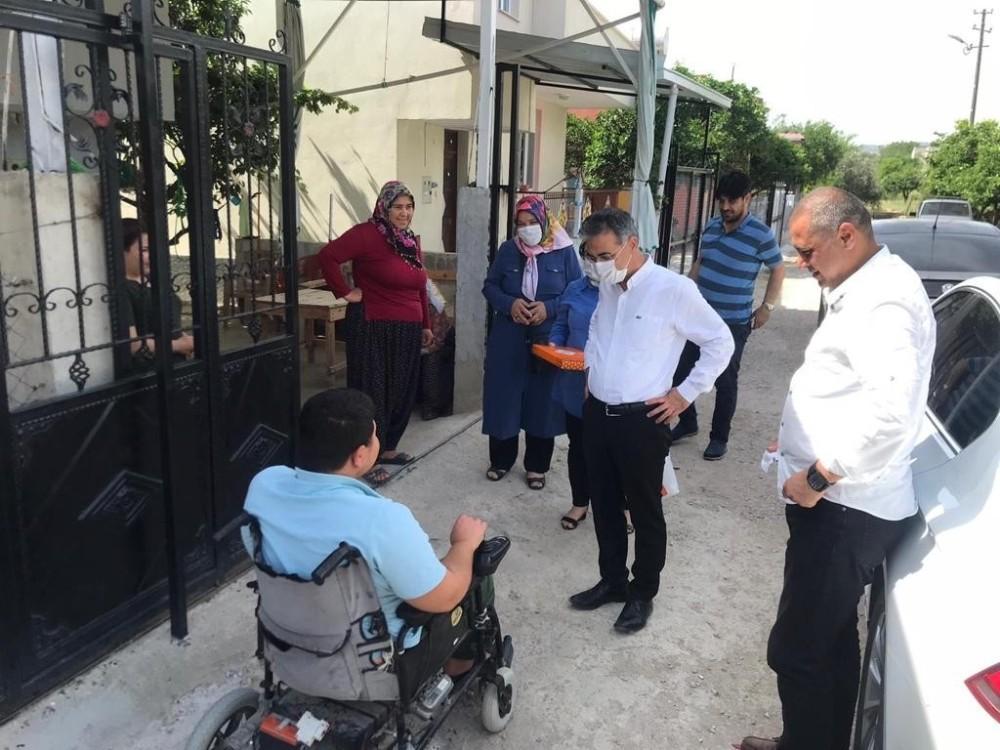 Kozan'da Cumhurbaşkanı selamını ile yüzler güldü