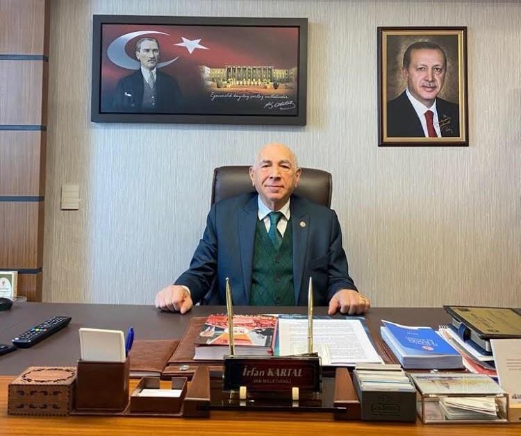AK Parti Van Milletvekili Kartal'dan Ramazan Bayramı mesajı