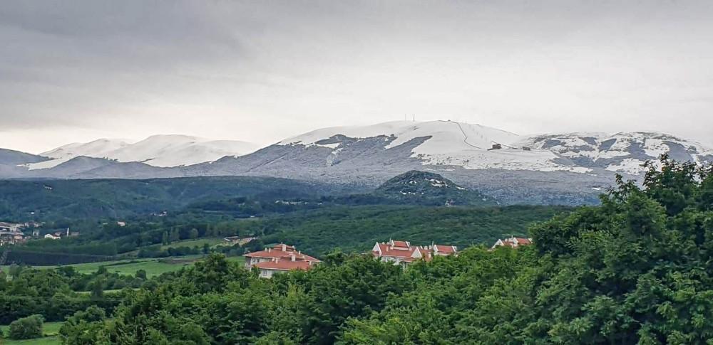 Samsun'da kar sürprizi: Akdağ bembeyaz