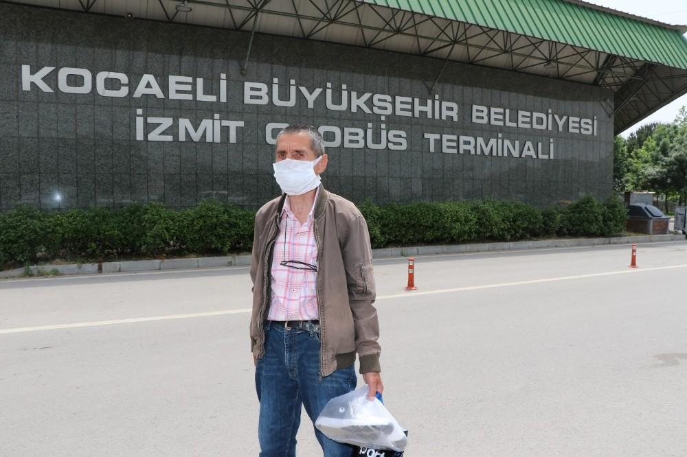 Korona virüs nedeni ile 40 gündür gidemediği memleketine kavuştu