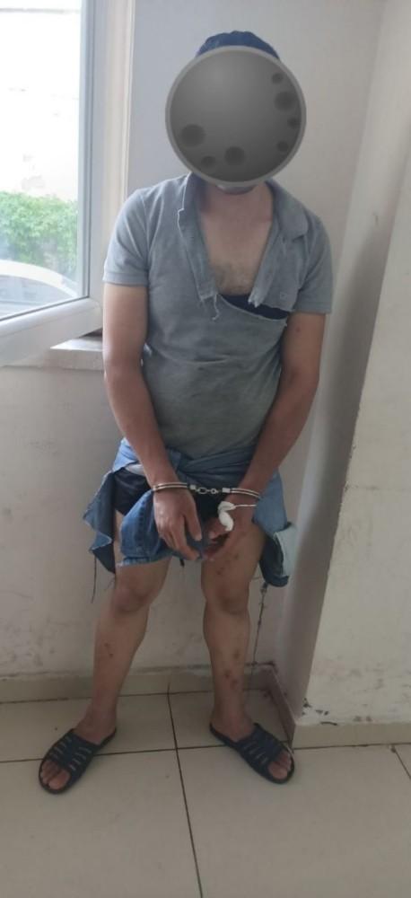 Cezaevi firarisi şahıs kıskıvrak yakalandı