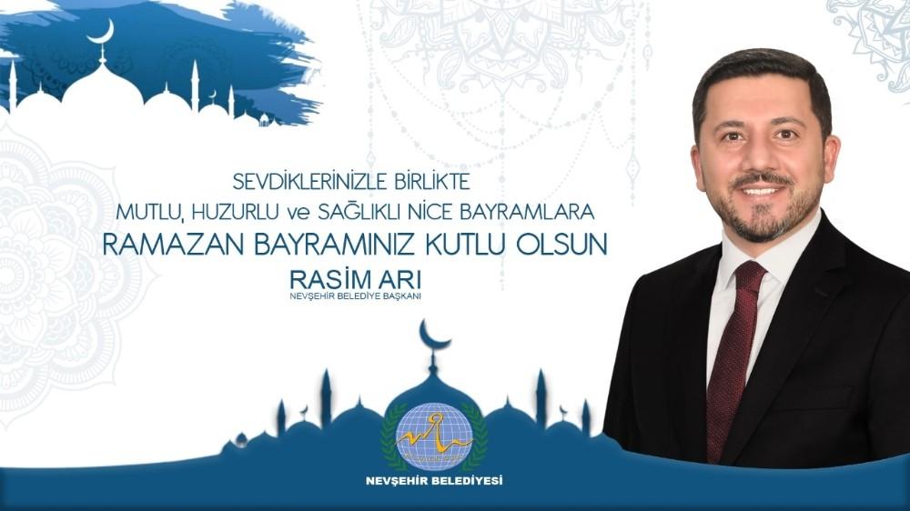 Belediye Başkanı Rasim Arı Ramazan Bayramını kutladı