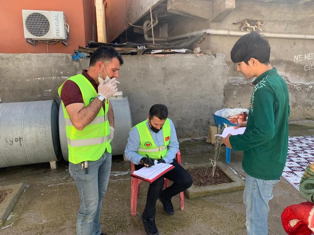 Yardımeli Derneğinden Silopi'de Ramazan Yardımı