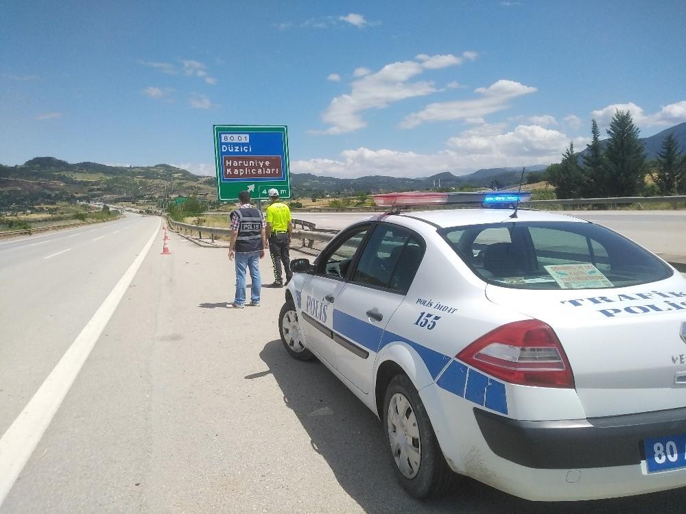 Yollar boşaldı, polisler sakin bir nöbet günü geçirdi