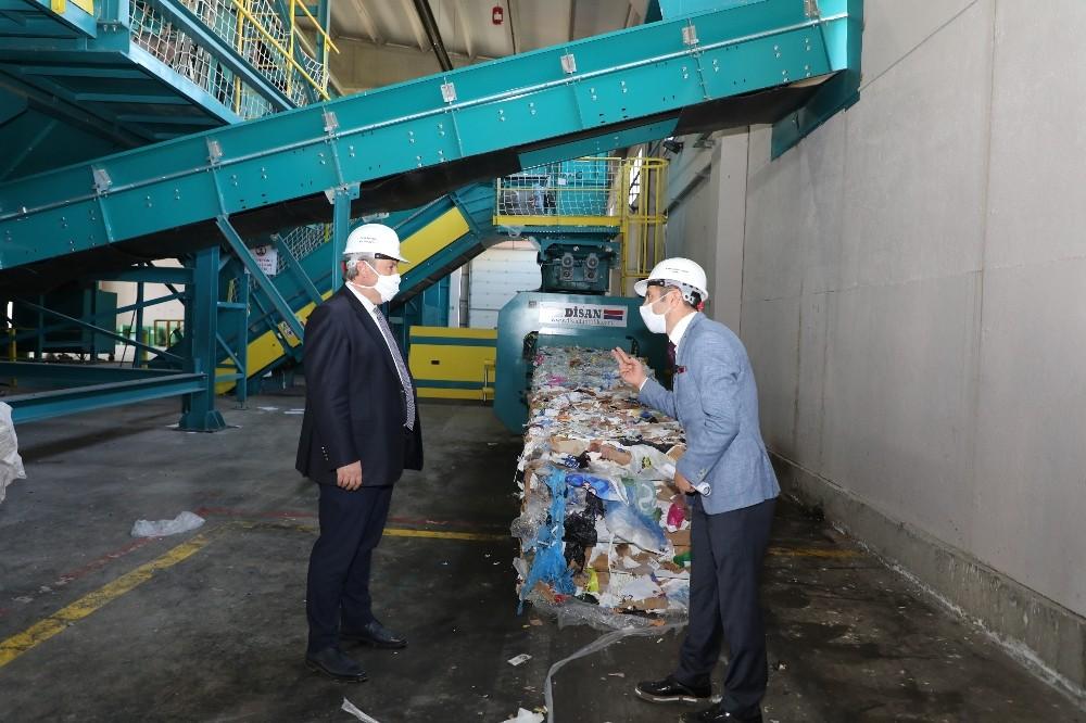 Melikgazi'de günlük 25 ton atık toplanıyor