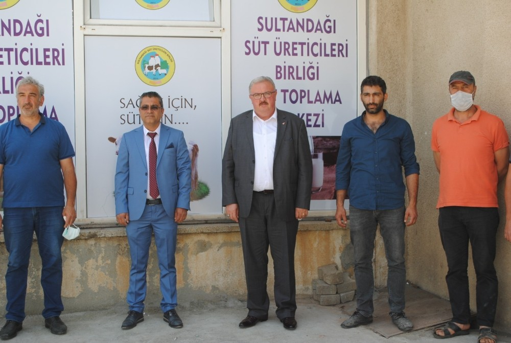 Sultandağı'ndaki üreticilerin sütlerini birlik toplayacak