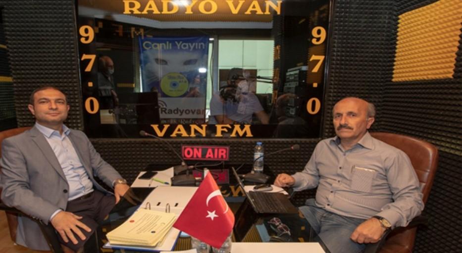 """İpekyolu Belediye Başkan Vekili Aslan: """"30 kırsal mahallemize semt sahası yapıyoruz"""