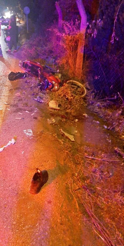 Hatay Arsuz'da trafik kazası: 1 ölü, 2 yaralı