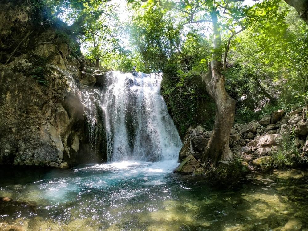 Kahramanmaraş'ın saklı cenneti: Değirmendere Şelalesi