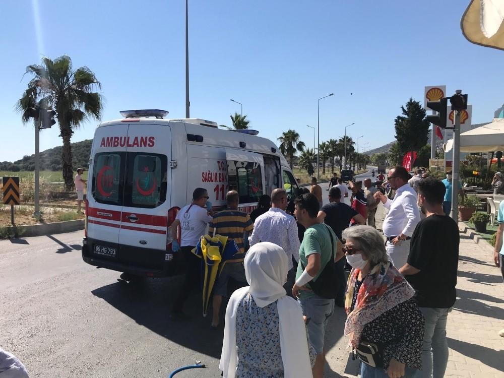 Kazada ağır yaralanan Eylem, 14 günlük yaşam mücadelesini kaybetti
