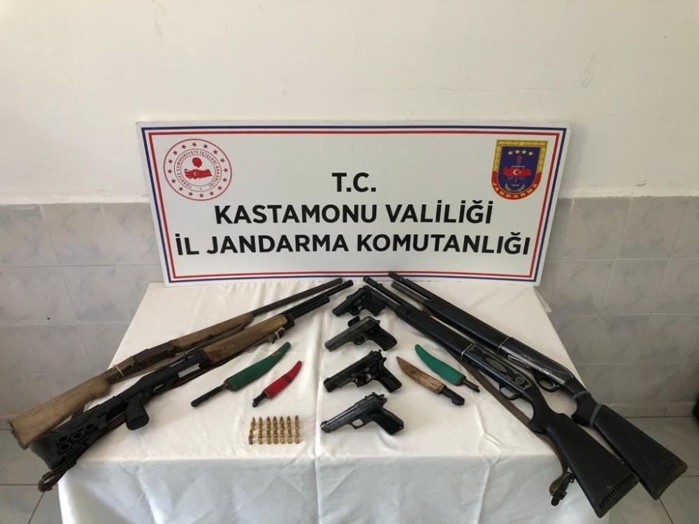 Jandarmadan kaçak silah operasyonu: 1 gözaltı