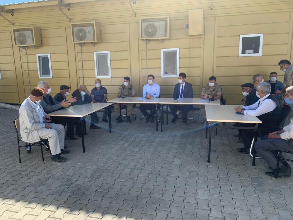 Uzlaşma Komisyonu arazi anlaşmazlığını çözüme kavuşturmak için tarafları dinledi