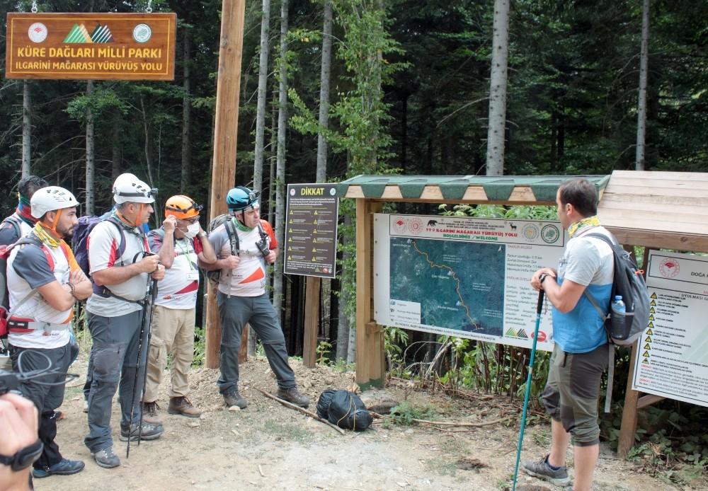 Alternatif turizme yönelen Batı Karadeniz'de yeni kamp alanları ve trekking rotaları belirleniyor