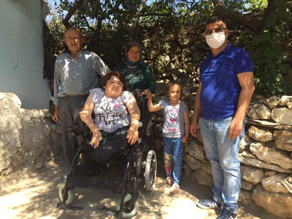 Büyükşehir engellilere desteğini sürdürüyor