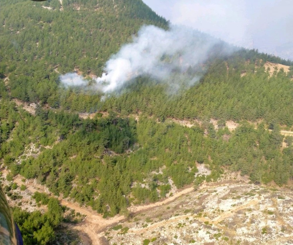 Kozan'da bir yangın daha - Adana Haberleri