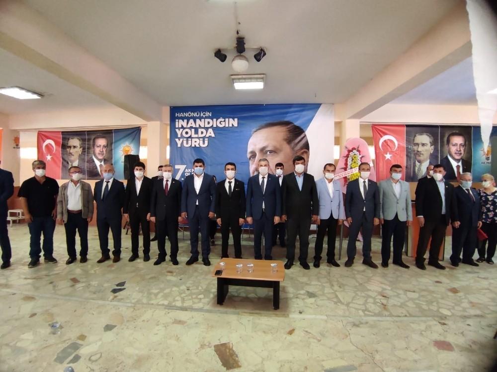 Hanönü AK Partide görev değişimi oldu