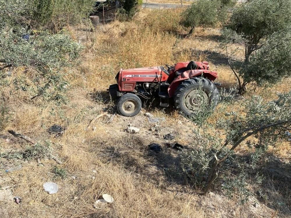 Manisa'da traktör kazası: 1 ölü