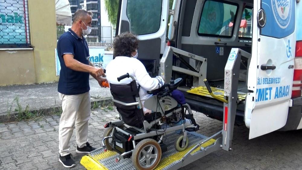 Kdz.Ereğli Belediyesi'nden engellilere özel hizmet