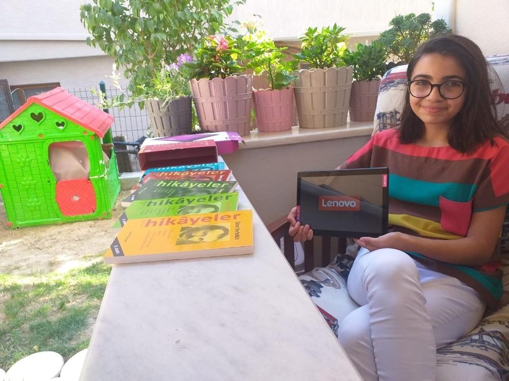 """""""Evim, Okulum"""" projesinde tablet ve materyaller çocuklara ulaşmaya başladı"""