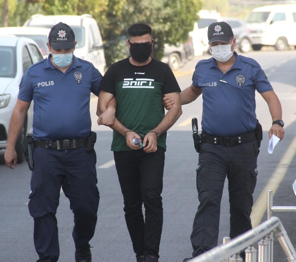 Sevgilisini ayrıldığı için 9. kattaki balkondan sarkıtan zanlı tutuklandı