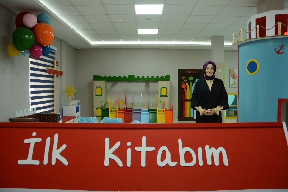 Akyurt Belediyesi'den 'Bebek Kütüphanesi'