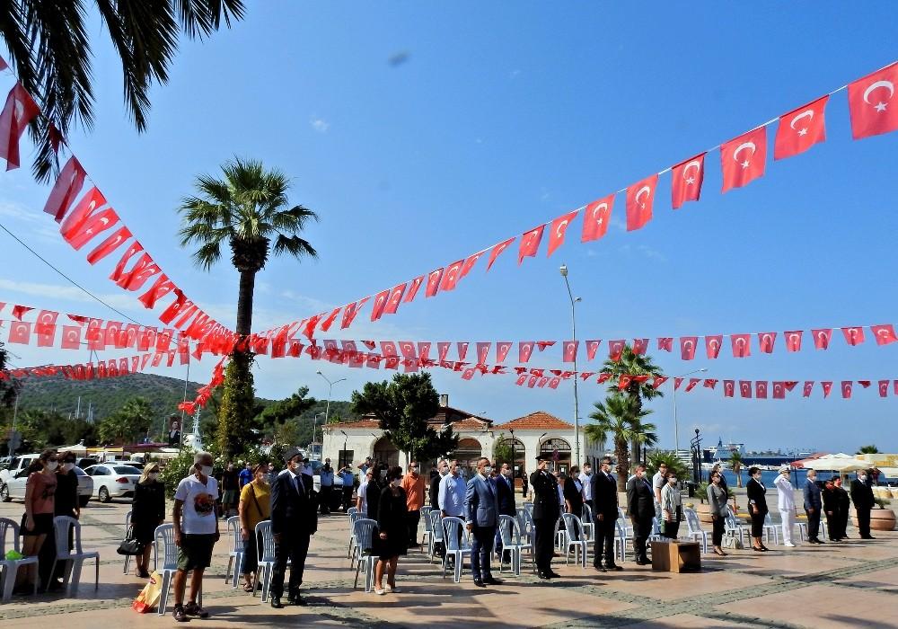 Aliağa ve Çeşme'de Gaziler Günü kutlaması