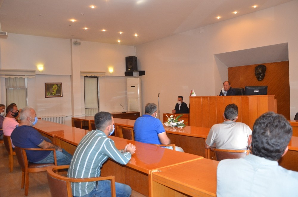 Başkan Oprukçu'dan hafriyat uyarısı