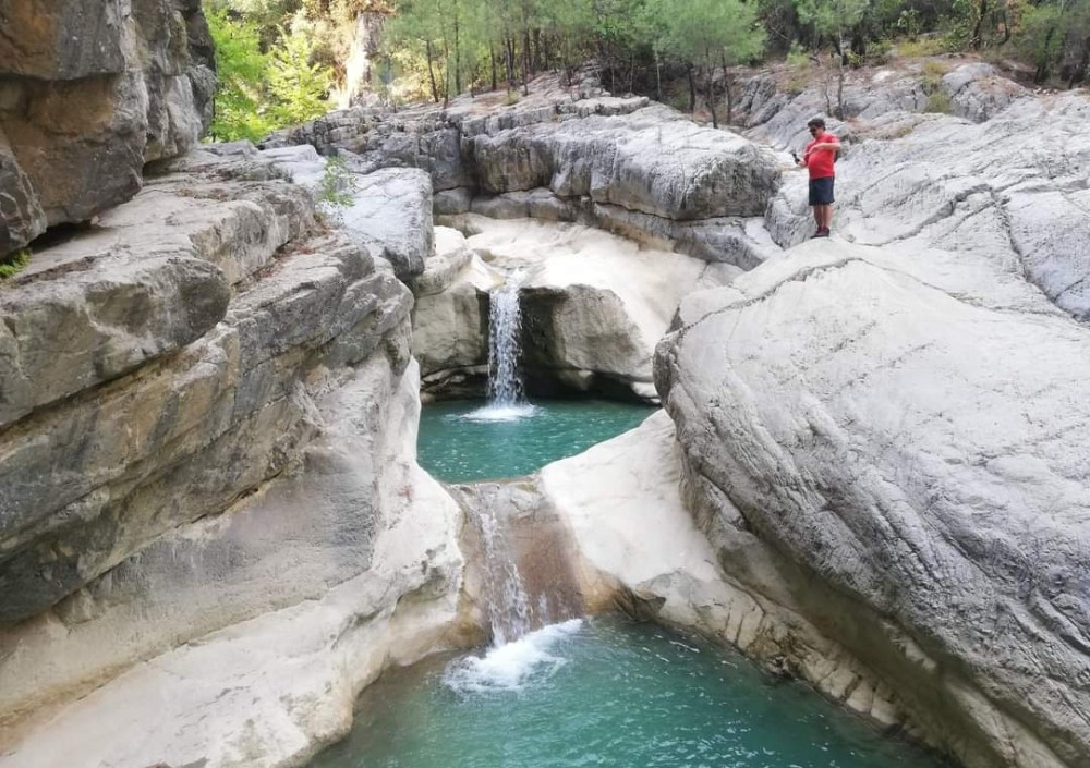 Toprakhisar Kanyonu doğaseverlerin akınına uğruyor
