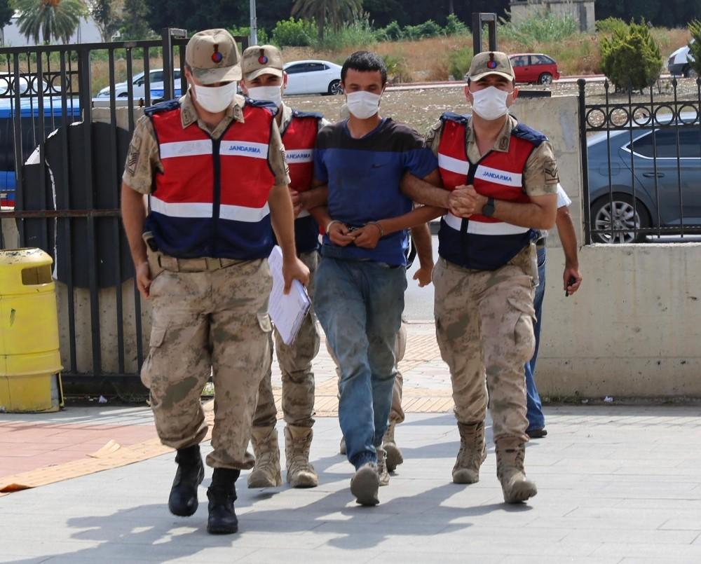 Hatay'da ormanı kundaklayan zanlı tutuklandı