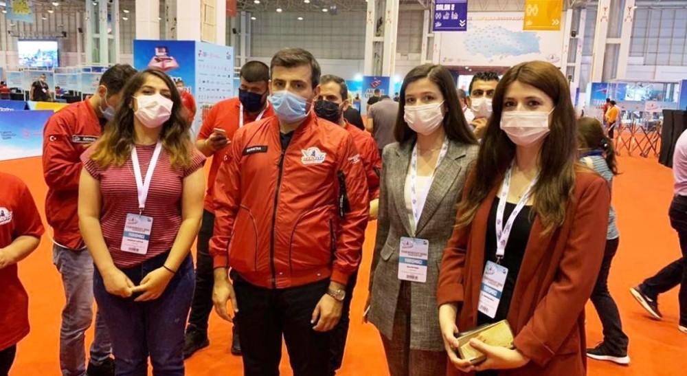 DPÜ'nün 'YuSi' takımı TEKNOFEST 2020'de Türkiye üçüncüsü oldu