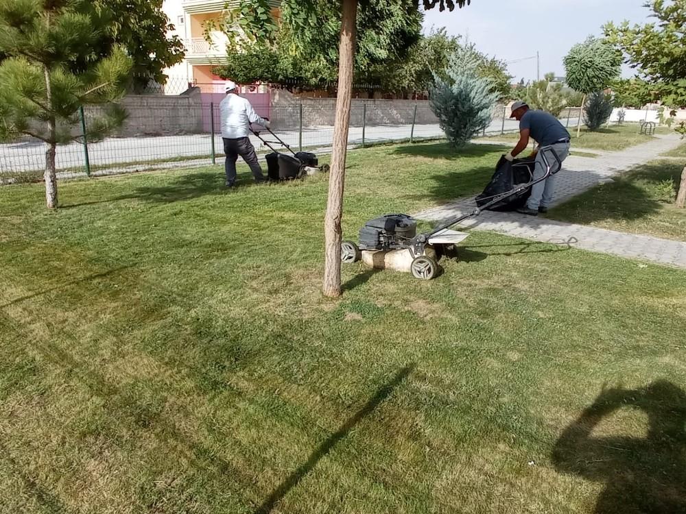 Emirdağ Belediyesi sonbahar çalışmalarına başladı