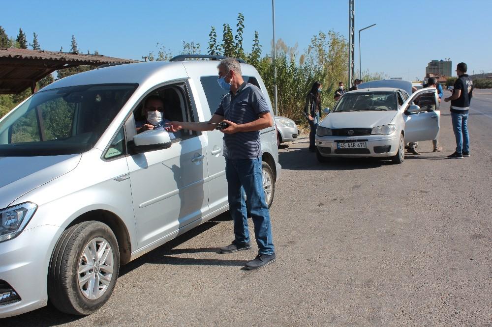 Alaşehir'de geniş çaplı asayiş uygulaması