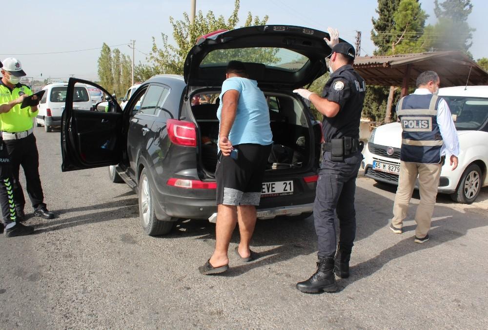 Alaşehir'de asayiş denetimleri arttı
