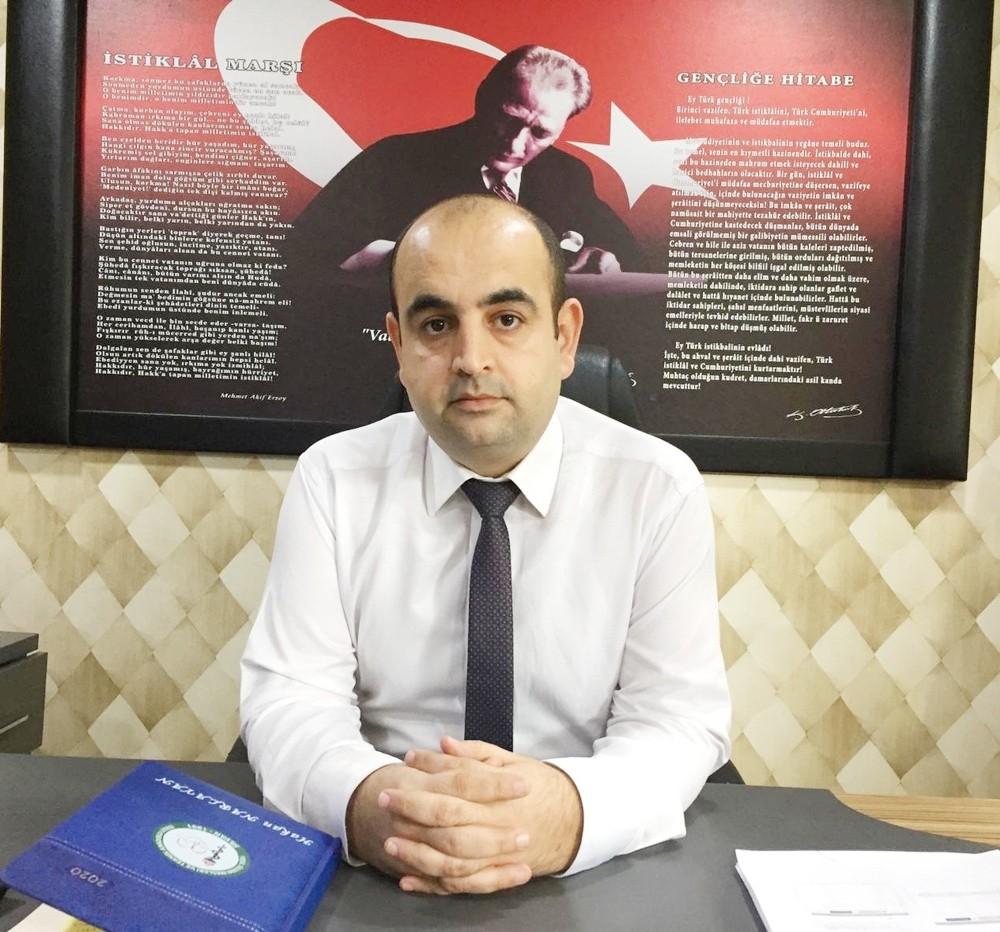 Silvan İlçe Milli Eğitim Müdürü Narlayan'ın korona virüs testi pozitif çıktı