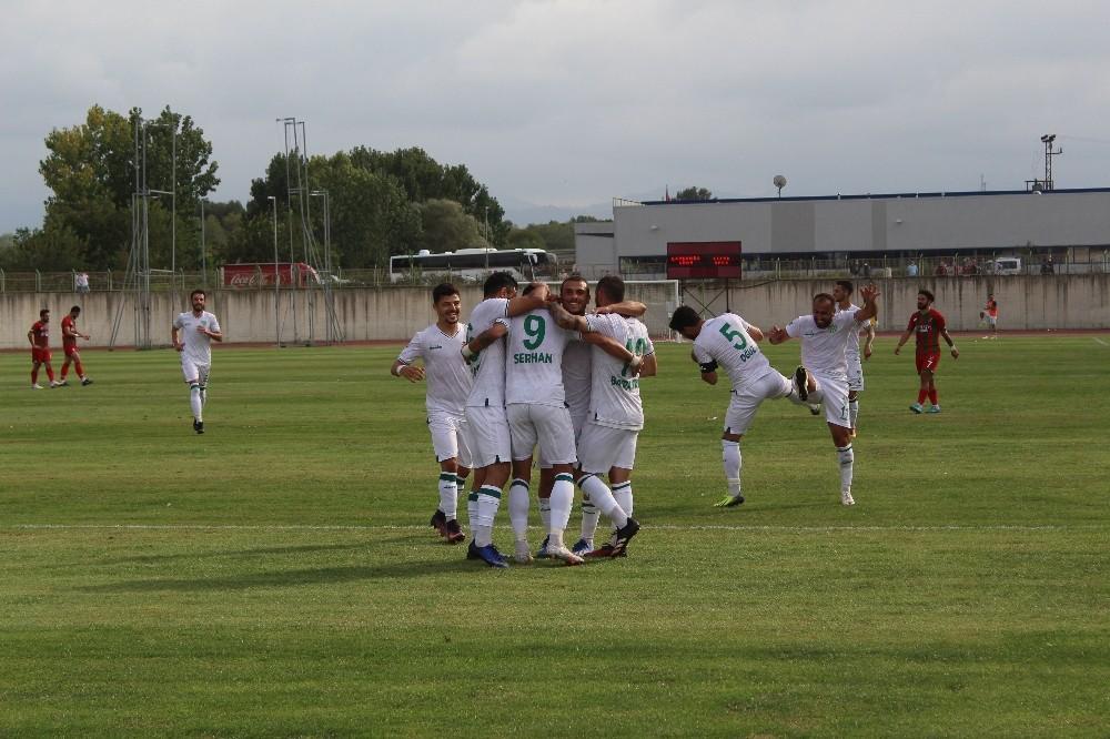 TFF 3. Lig: Çarşambaspor: 3 - Cizrespor: 0