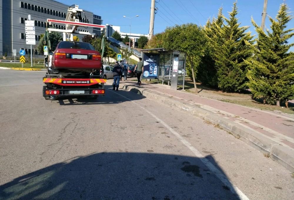 Hatalı park eden araçlara ceza