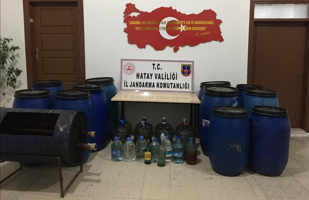 Hatay'da sahte alkol operasyonu