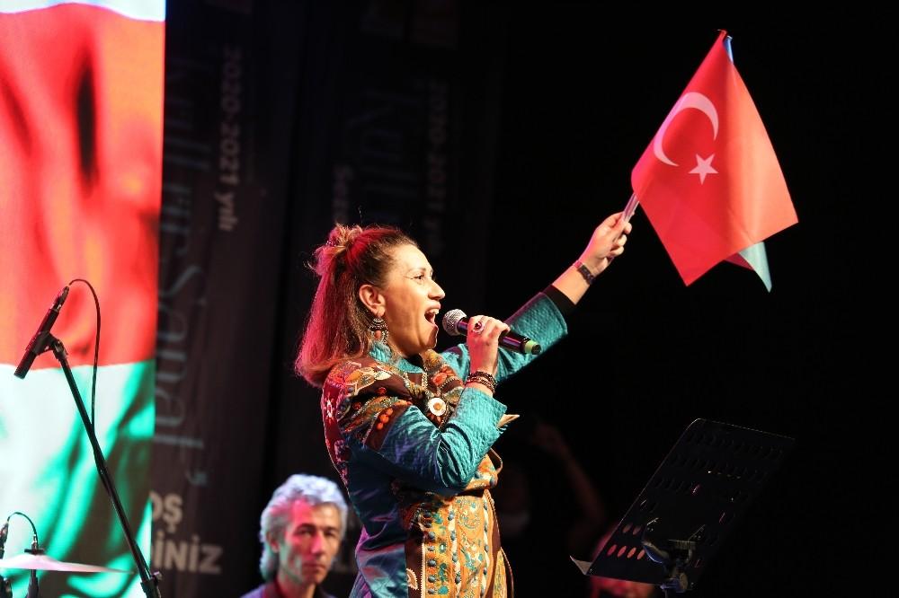 """Azerbaycan Devlet Sanatçısı Azerin; """"Yakın zamanda Dağlık Karabağ'da Çırpınırdı Karadeniz'i söyleyeceğim"""""""
