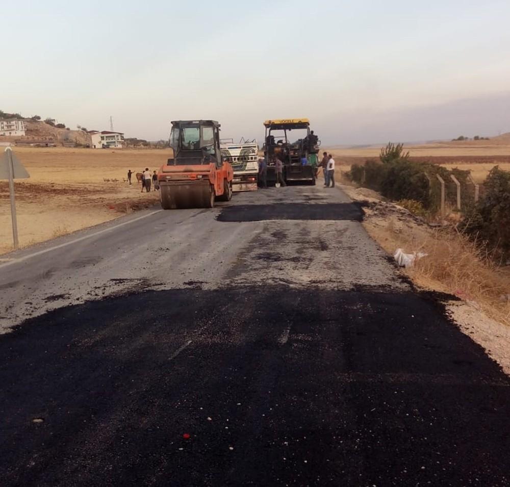 Silvan-Hazro yolu asfaltlanıyor