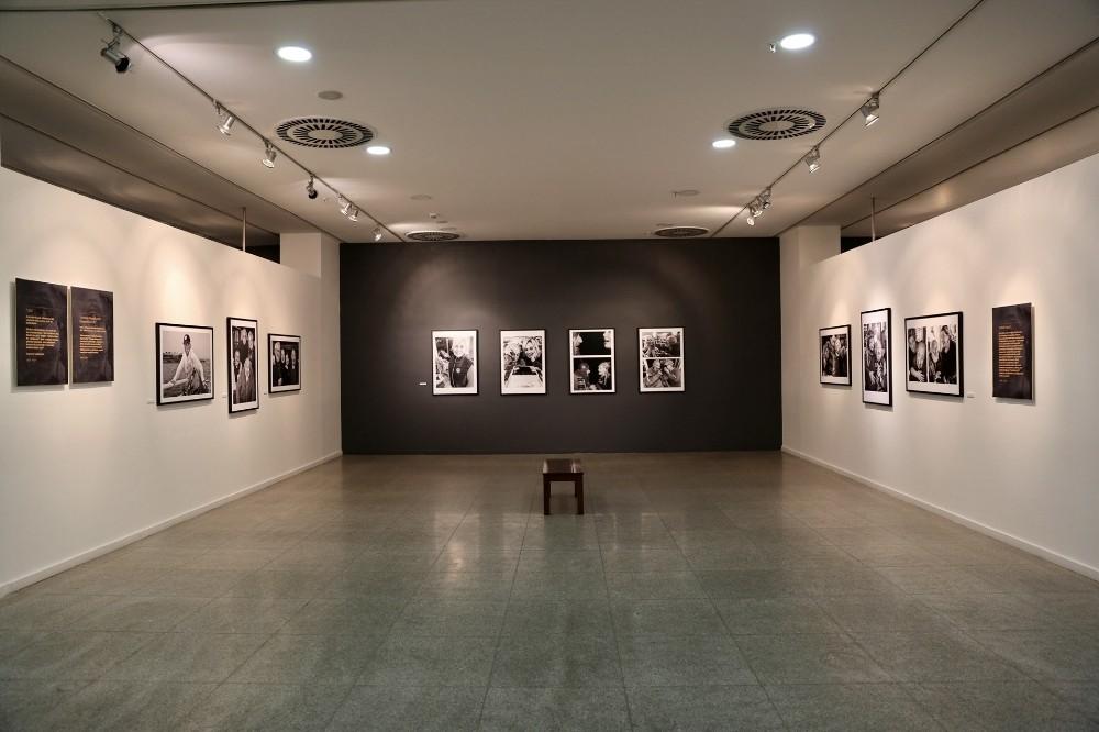 Melih Berk'in objektifinden Güle Güle Ara Güler sergisi Küçükçekmece'de