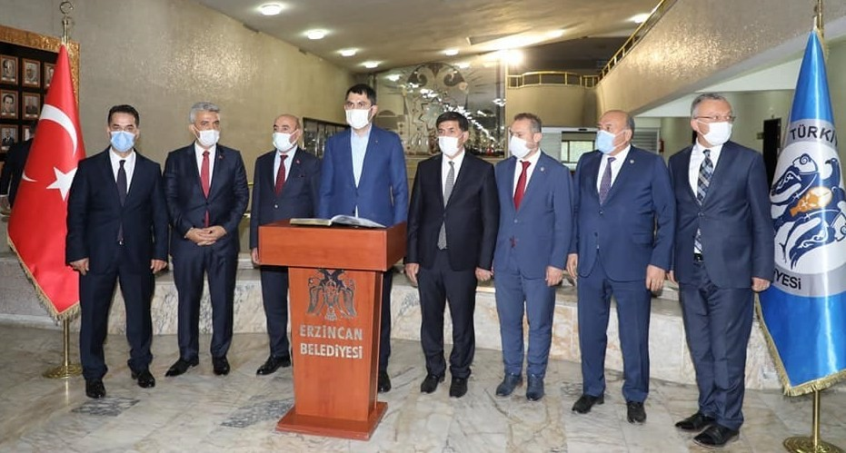 Erzincan'da kentsel dönüşümün ikinci etabını TOKİ yürütecek