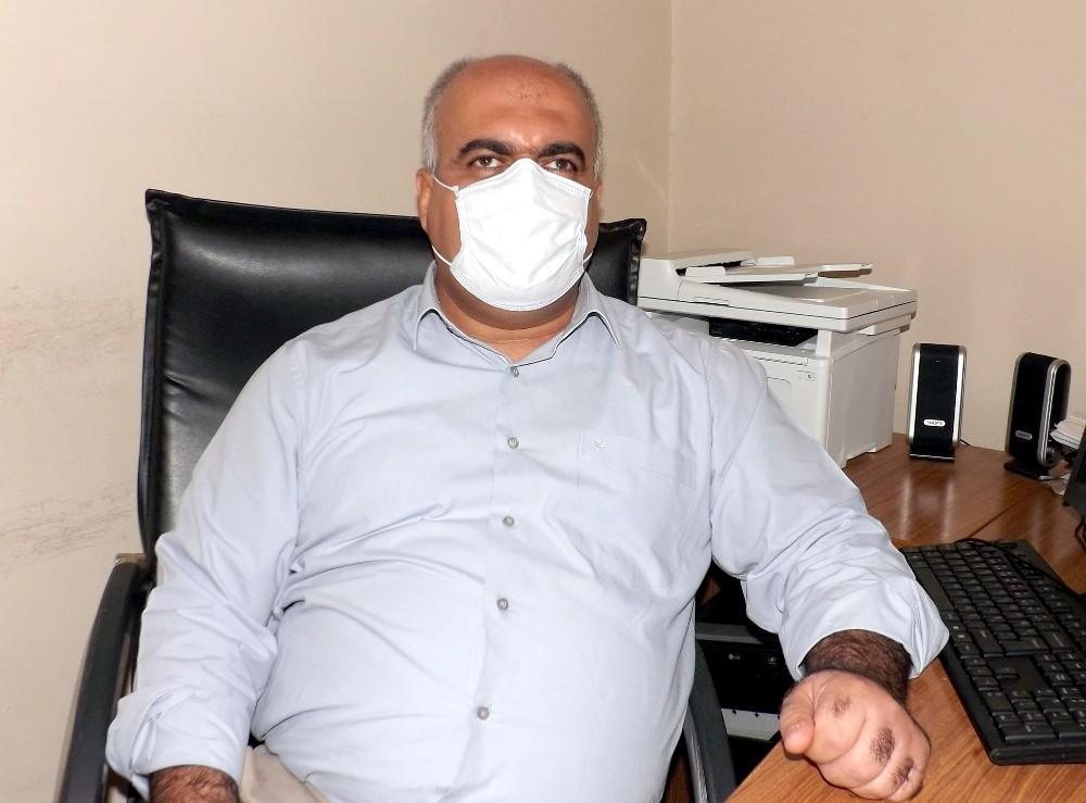 Diyarbakır'da görme engelli vatandaşlara evlerinde korona virüs testi yapılıyor