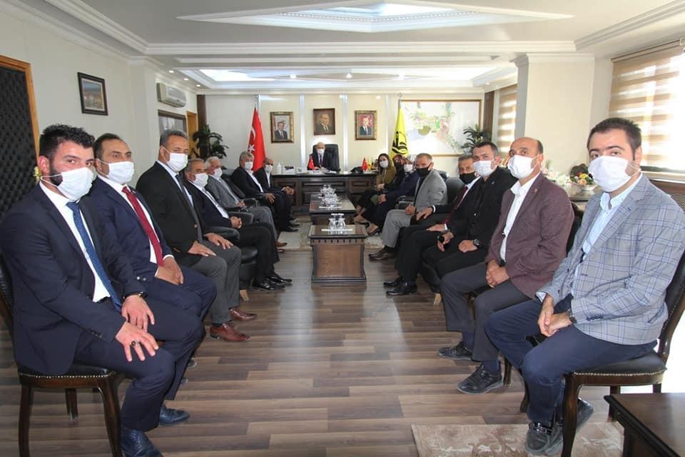 İstanbul Milletvekili Erdem'den Başkan Pekmezci'ye ziyaret
