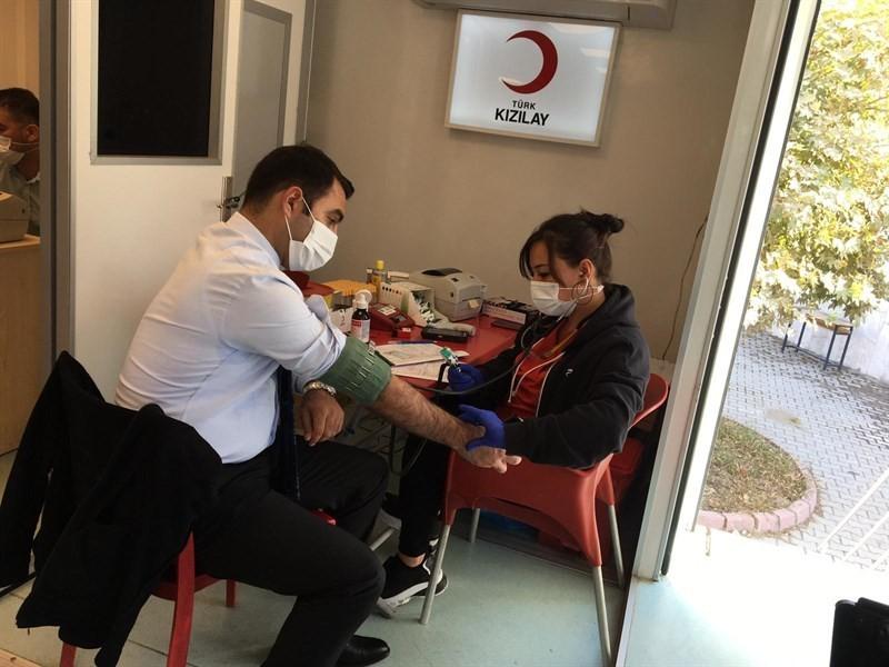 Kan kampanyasına destek