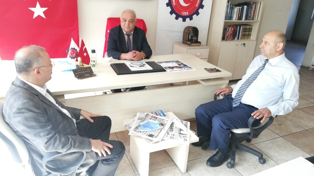MYK üyesi Kotra Sarıoğlu ile bir araya geldi